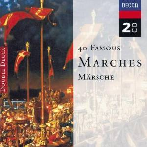 40 FAMOUS MARCHES -2CD (CD)