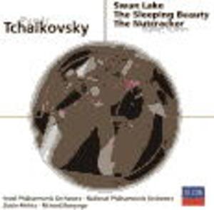 TCHAIKOVSKY:SWAN LAKE SLEEPING BEAUTY NUTCRACKER (CD)