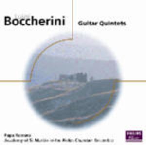 BOCCHERINI GUITAR QUINTETS (CD)
