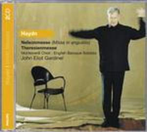 HAYDN: MESSA MESSA NELSON THERESIEN 2CD (CD)