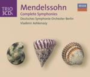 MENDELSSOHN SINFONIE COMPLETE 3CD (CD)