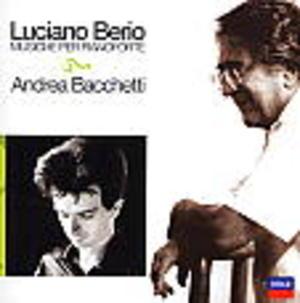MUSICHE PER PIANOFORTE LUCIANO BERIO (CD)