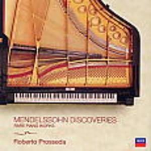 MENDELSSOHN DISCOVERIES (CD)