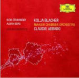 CONCERTI PER VIOLINO ALBAN BERG (CD)