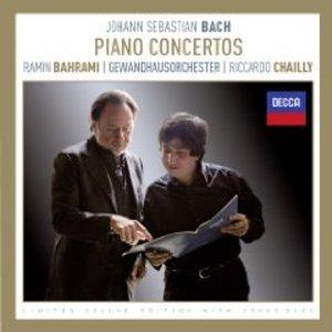BACH - FIVE PIANO CONCERTOS BWV 1052-1056 (CD)