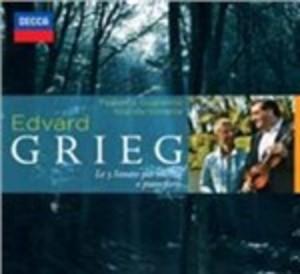 GRIEG SONATE PER VIOLINO E PIANOFORTE (CD)