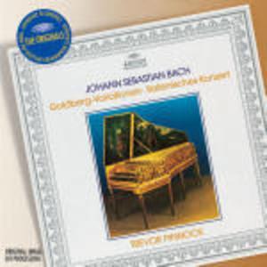 BACH: VARIAZIONI GOLDBERG - CONCERTO ITALIANO (CD)