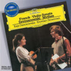 FRANCK: SONATA PER VIOLINO / MYTHES (CD)