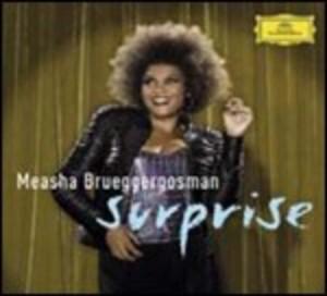 MEASHA BRUEGGERGOSM - SURPRISE CABARET SONGS BY BOLCOM SATIE SCH