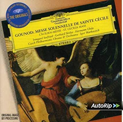 GOUNOUD: MESSA SOLENNE DI SANTA CECILIA (CD)
