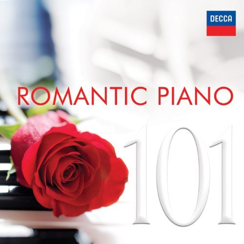 101 ROMANTIC PIANO -6CD (CD)