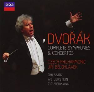 DVORK: COMPLETE SYMPHONIES & CONCERTOS -6CD (CD)