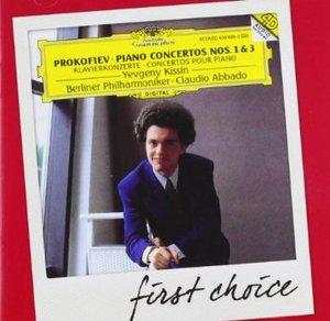 PROKOFIEV: PIANO CONCERTOS NOS.1 & 3 (CD)