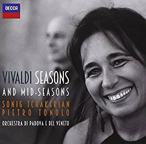 ANTONIO VIVALDI - SEASONS AND MID-SEASONS - TCHAKERIAN/TONOLO (C