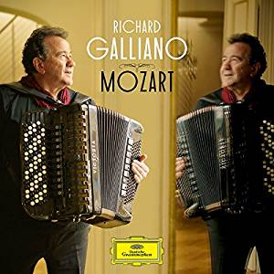 RICHARD GALLIANO - MOZART (CD)