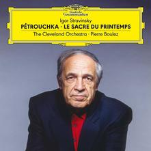 LA SAGRA DELLA PRIMAVERA - PETROUCHKALERIANA (LP)