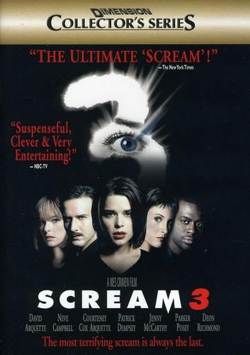 SCREAM 3 [EDIZIONE: STATI UNITI] (DVD)