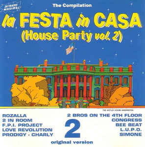 LA FESTA IN CASA HOUSE PARTY VOL.2 (CD)