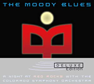 MOODY BLUES - A NIGHT AT RED ROCKS -2CD (CD)