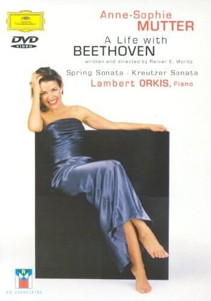 ANNE SOPHIE MUTTER A LIFE WITH BEETHOVEN (DVD)
