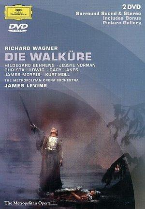 WAGNER DIE WALKURE (WAGNER - LEVINE) (DVD)
