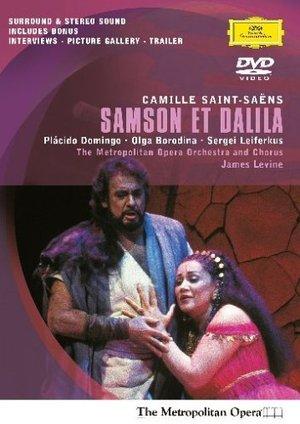 SAINT-SAENS: SAMSON ET DALILA (SANT-SEANS - LEVINE) (DVD)