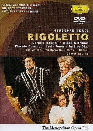 VERDI RIGOLETTO (VERDI-LEVINE) (DVD)