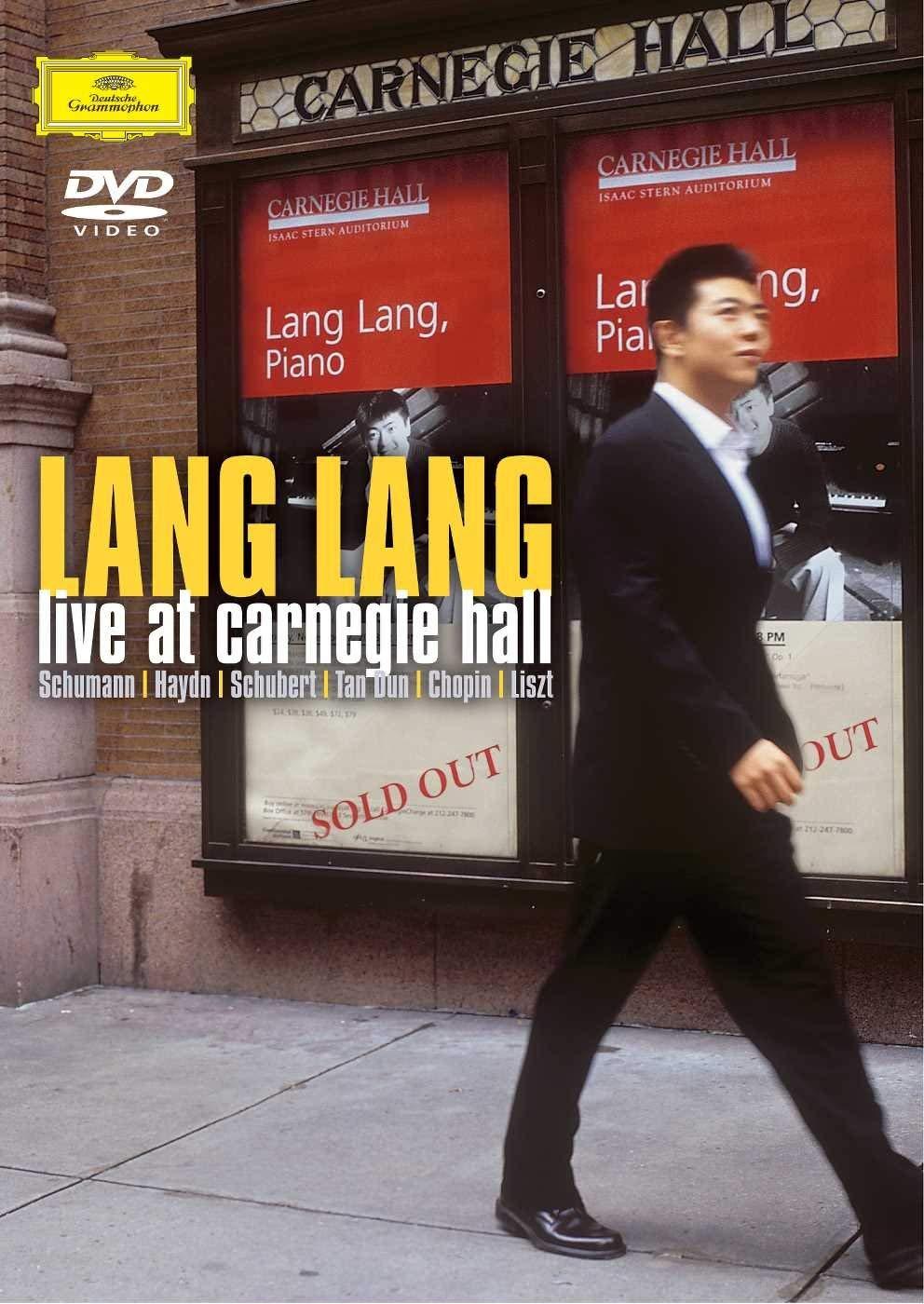 LANG LANG LIVE AT CARNEGIE HALL (DVD)