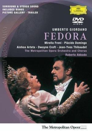 GIORDANO FEDORA (GIORDANO - ABBADO) (DVD)