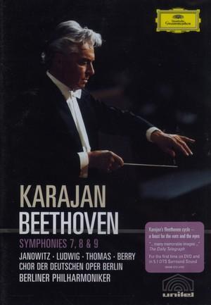 BEETHOVEN SYMPHONIES 7-8-9 (DVD)