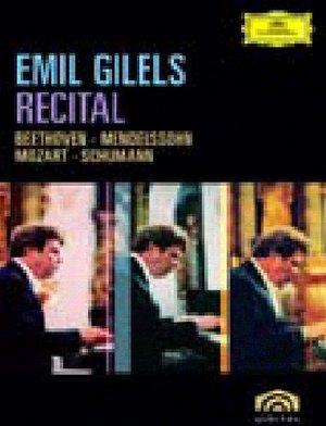 EMIL GILELS - RECITAL (DVD)