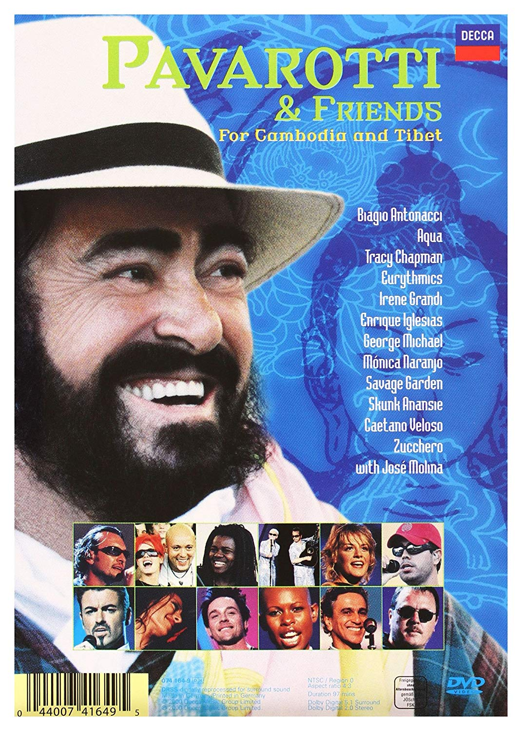 PAVAROTTI & FRIENDS: FOR CAMBODIA AND TIBET / MY HEART'S DELIGHT