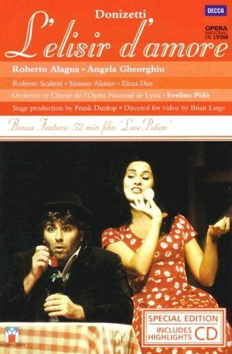 L' ELISIR D'AMORE - CD+DVD (DVD)