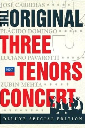 3 TENORS - THE ORIGINAL CONCERT (DELUXE EDITION) (2 DVD) (1990 ) (DVD)