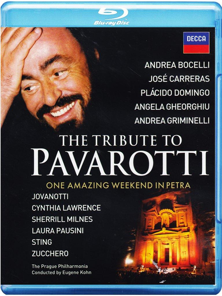 LUCIANO PAVAROTTI - THE TRIBUTE