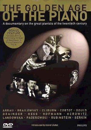 GOLDEN AGE OF THE PIANO (DVD)