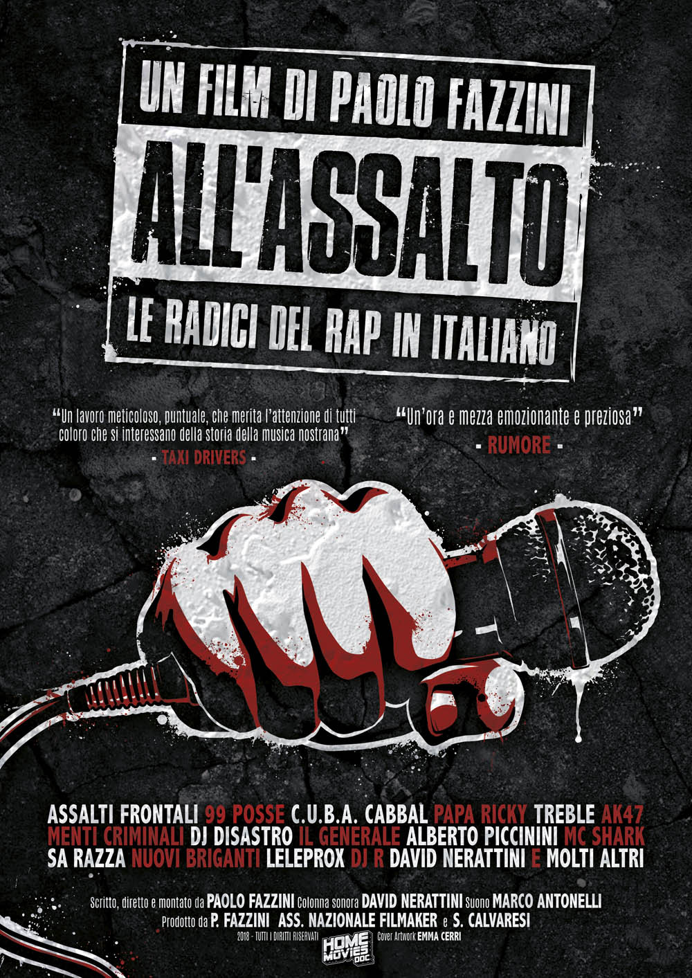 ALL'ASSALTO - LE RADICI DEL RAP IN ITALIANO (DVD)