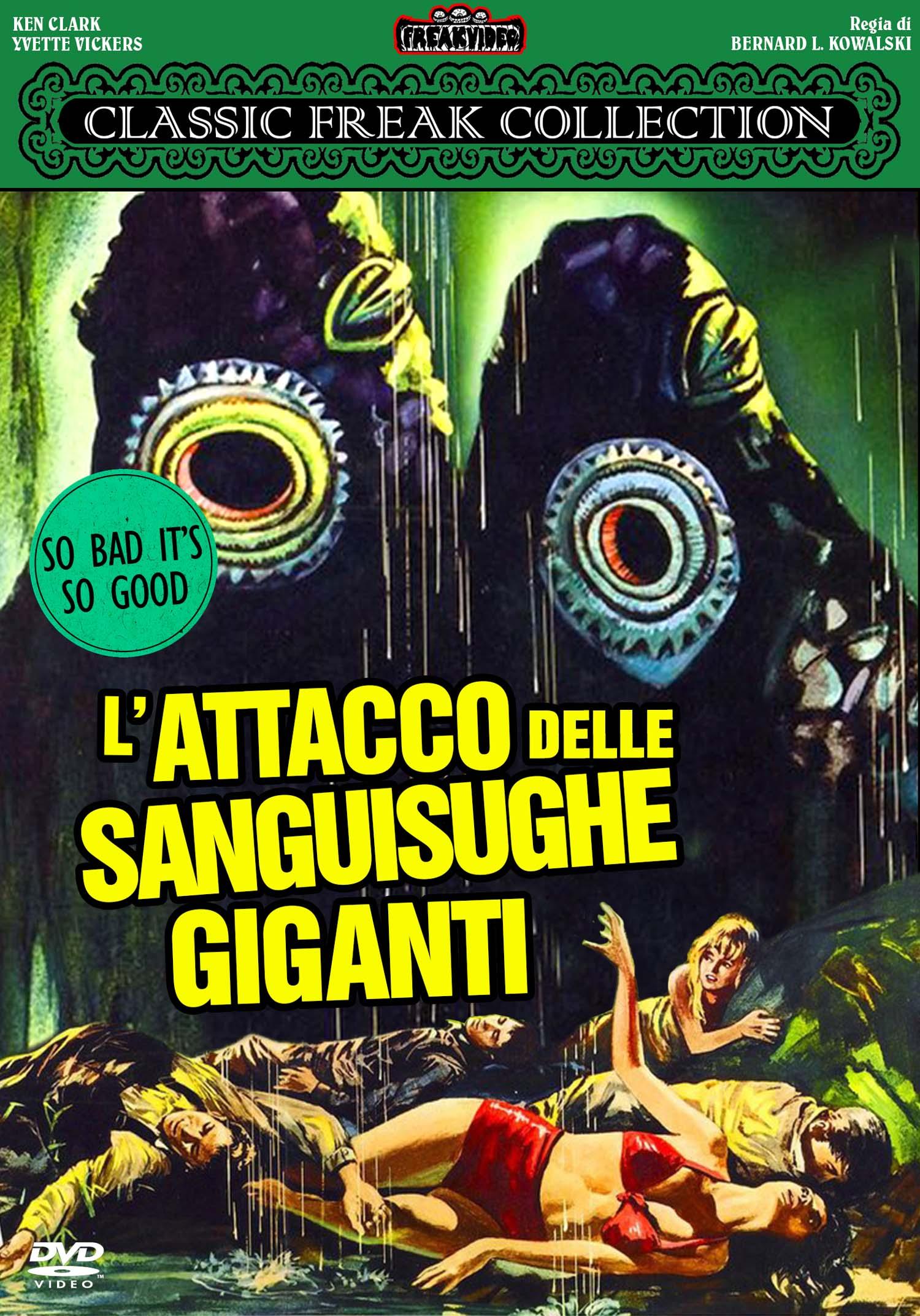 L'ATTACCO DELLE SANGUISUGHE GIGANTI - AUDIO INGLESE (DVD)