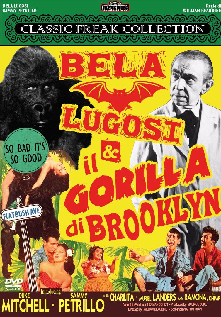 BELA LUGOSI E IL GORILLA DI BROOKLYN (DVD)