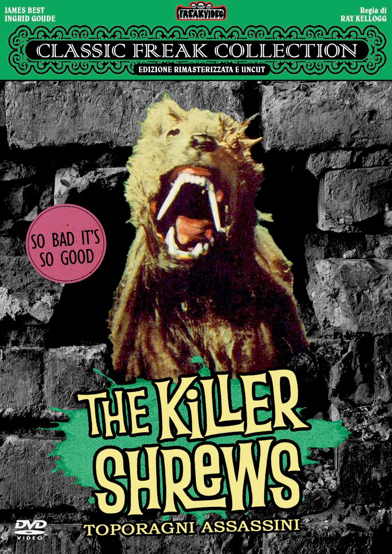 THE KILLER SHREWS - TOPORAGNI ASSASSINI (DVD)