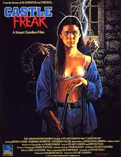 CASTLE FREAK - BLU RAY