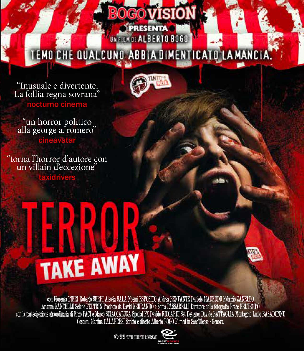 TERROR TAKE AWAY - BLU RAY