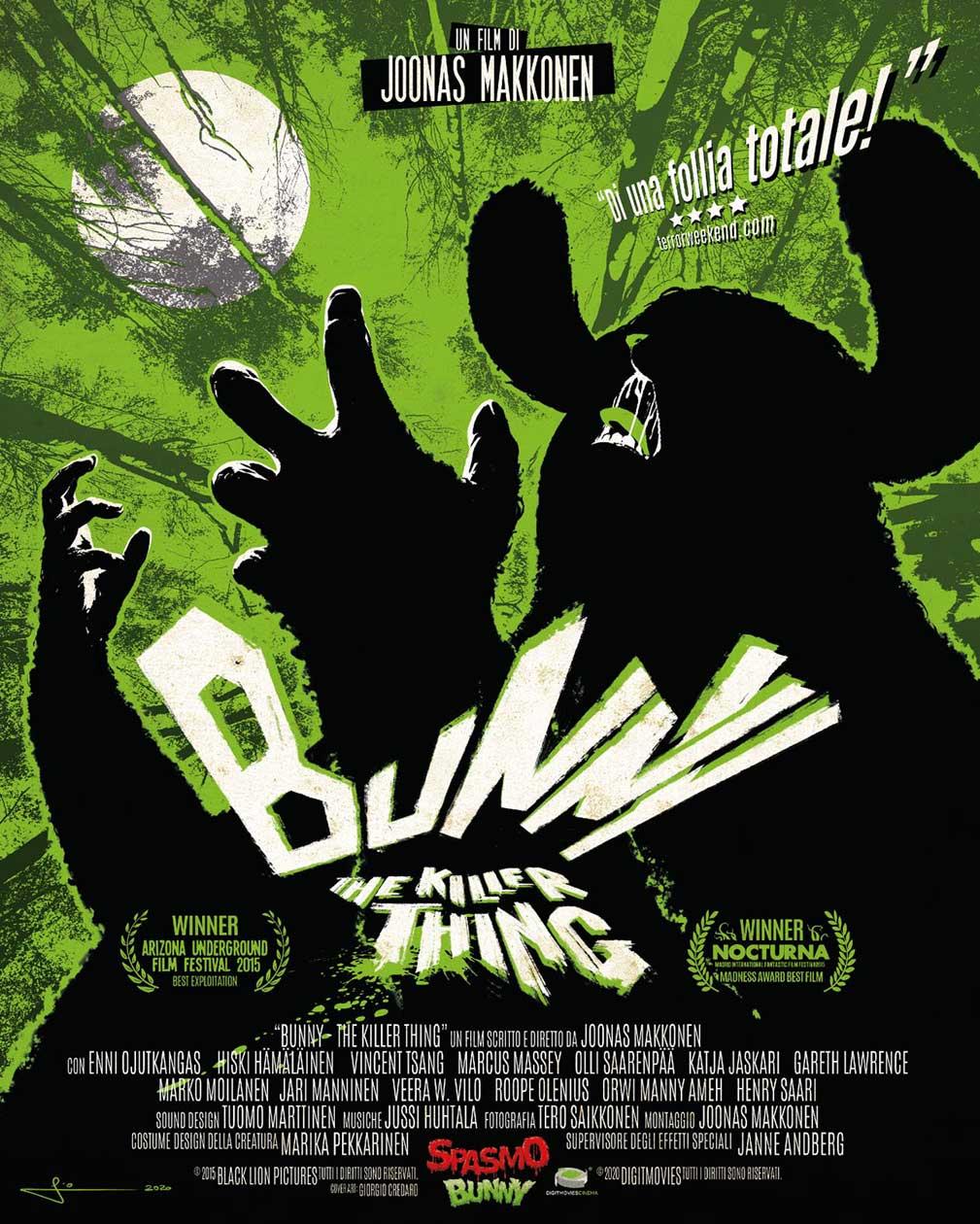 BUNNY THE KILLER THING - BLU RAY