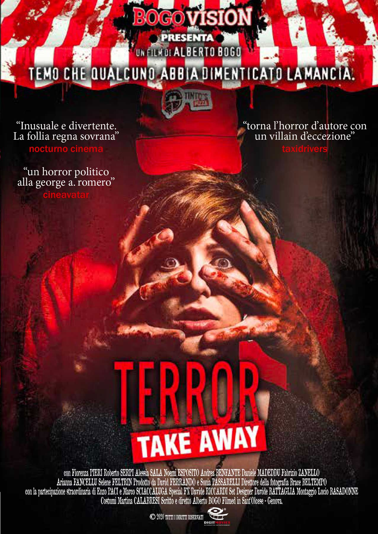 TERROR TAKE AWAY (DVD)