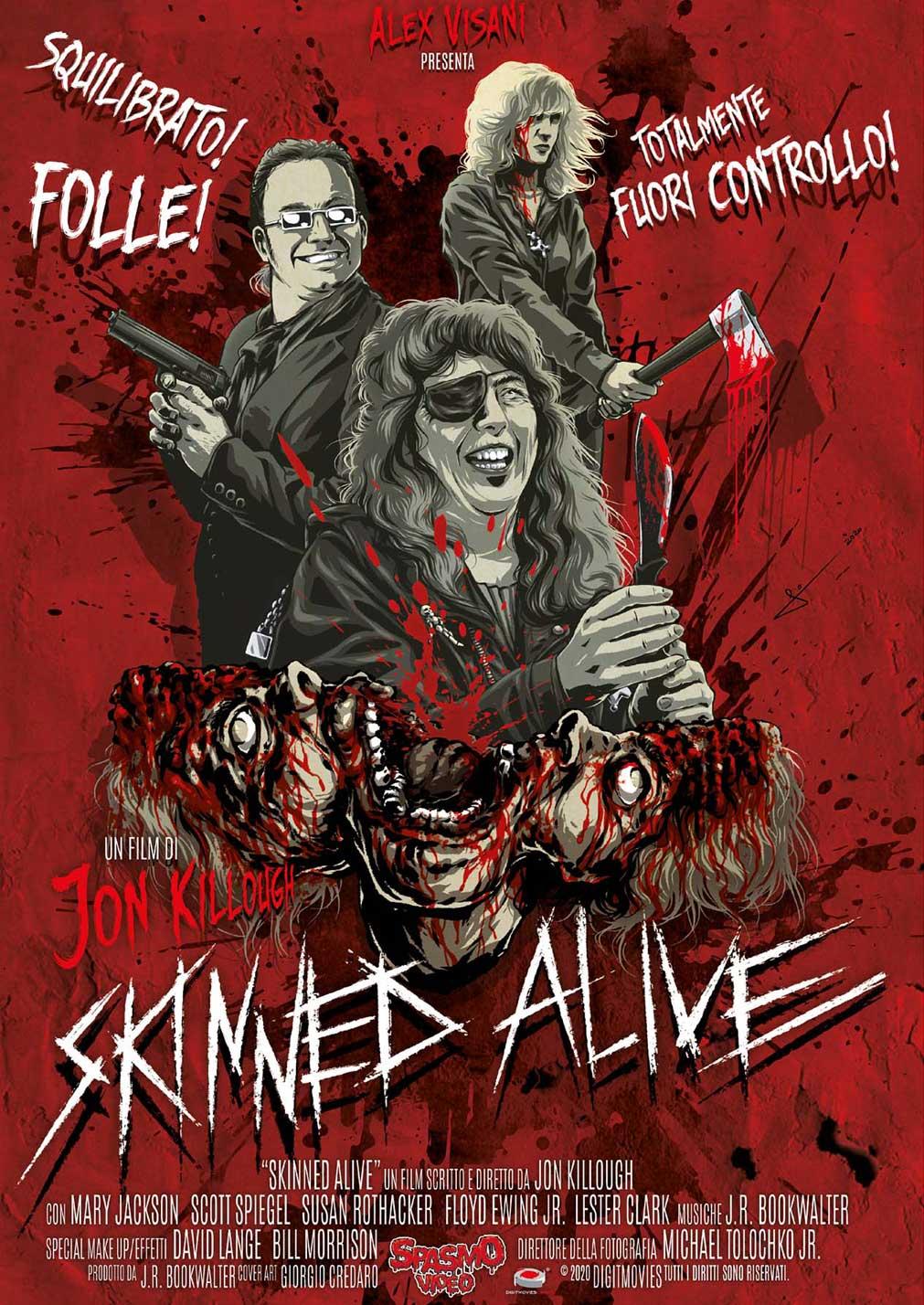 SKINNED ALIVE (DVD)