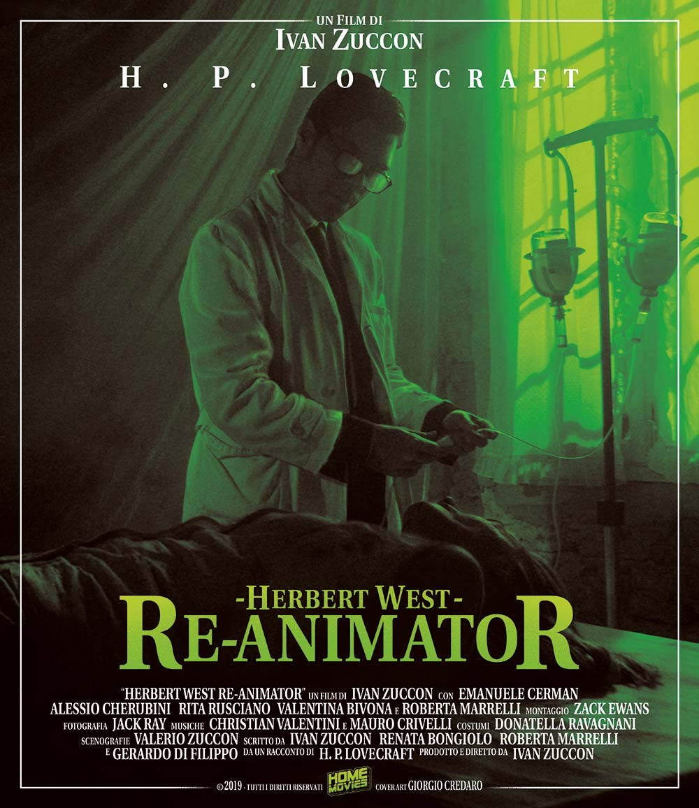 HERBERT WEST REANIMATOR - BLU RAY