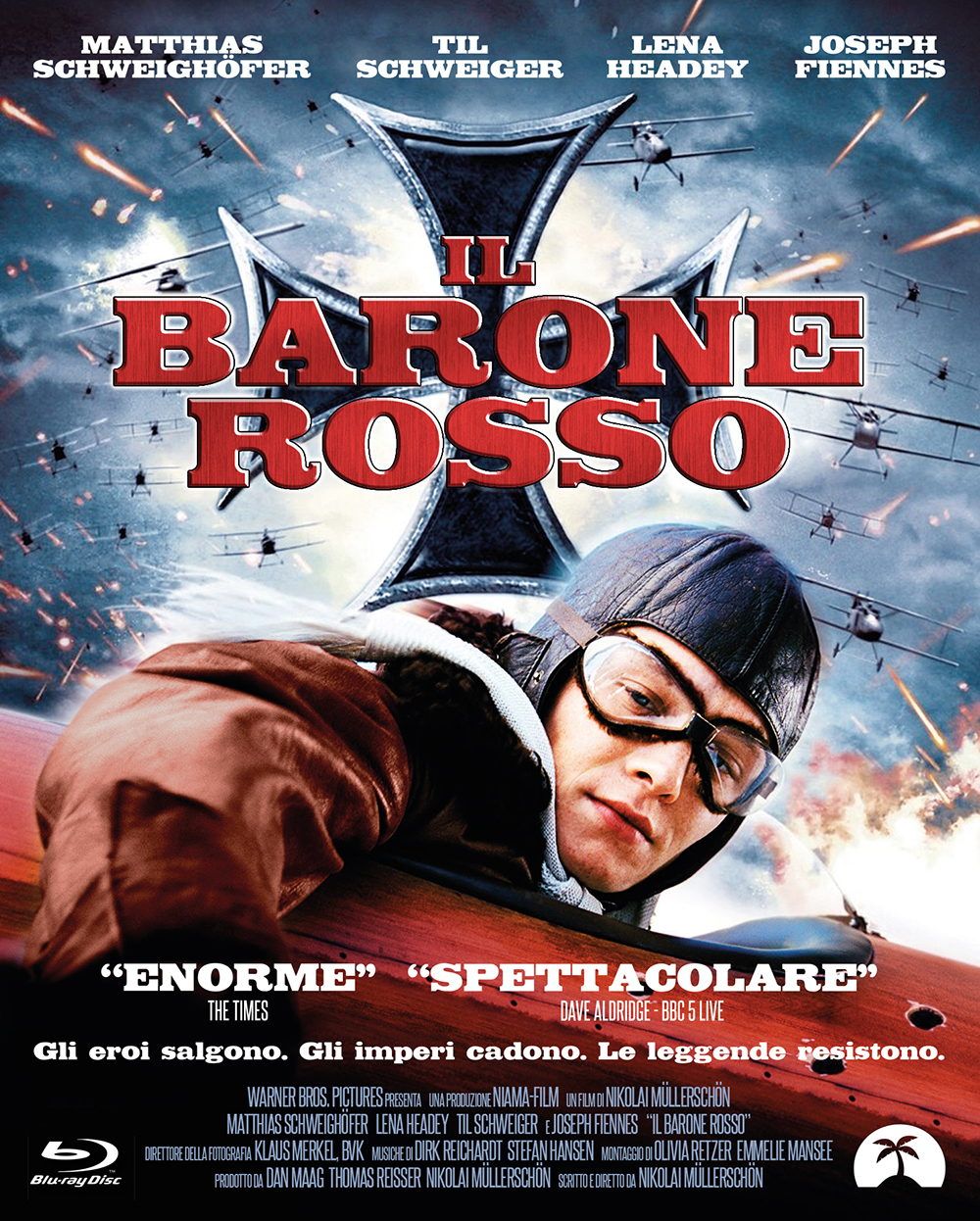 THE RED BARON - IL BARONE ROSSO - BLU RAY