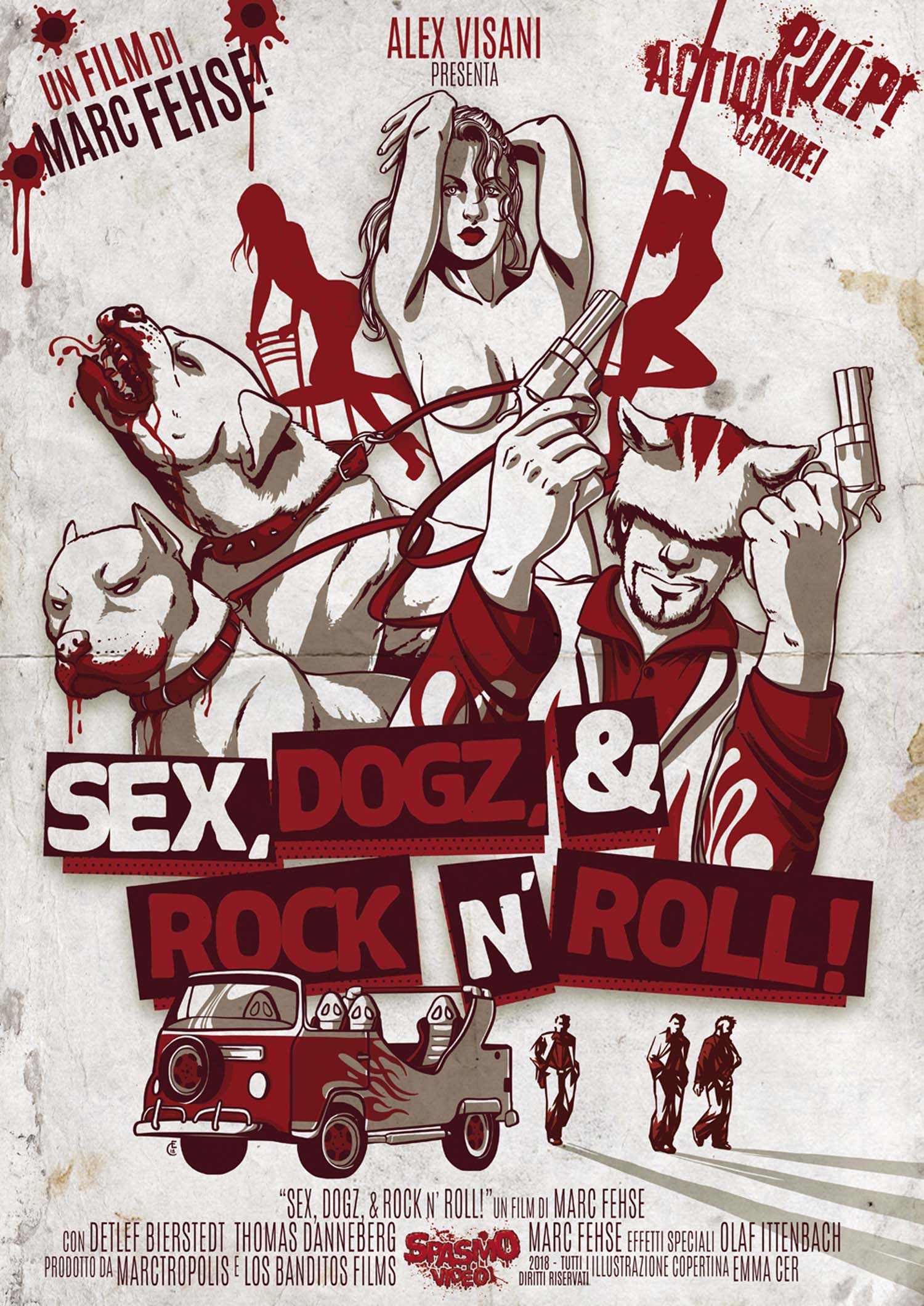 SEX, DOGZ & ROCK N' ROLL (DVD)