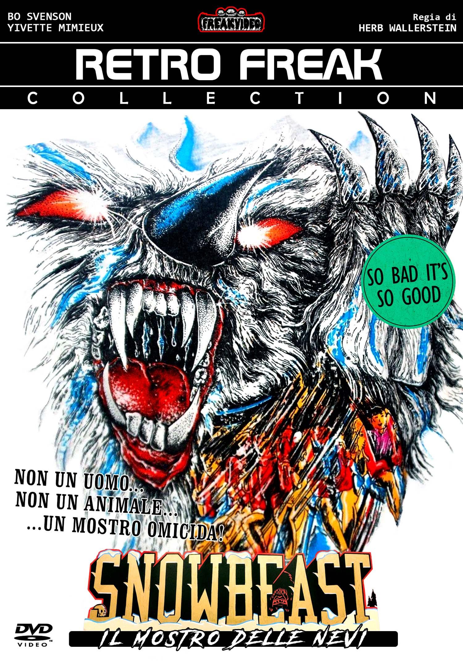 SNOWBEAST - IL MOSTRO DELLE NEVI (DVD)