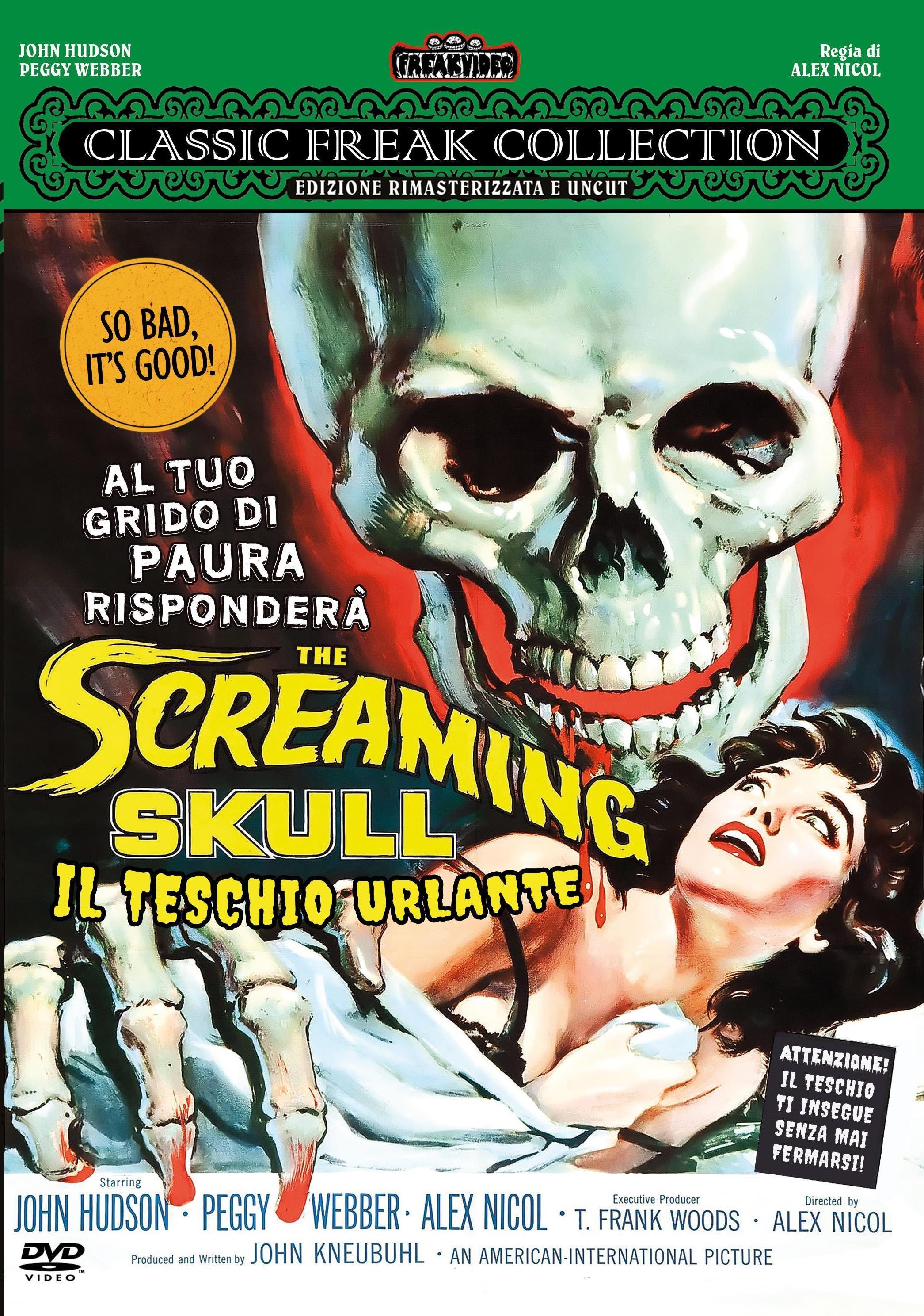 THE SCREAMING SKULL (LINGUA ORIGINALE) (DVD)
